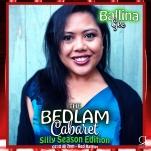 Bedlam Cabaret Silly Season - Performer Card - Ballina Gee copy
