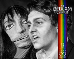 Bedlam Cabaret Mardi Gras - Poppy Cox as Serge Gainsbourg
