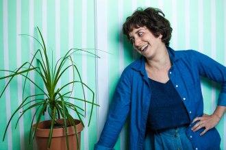 Debbie Z and plant.jpg
