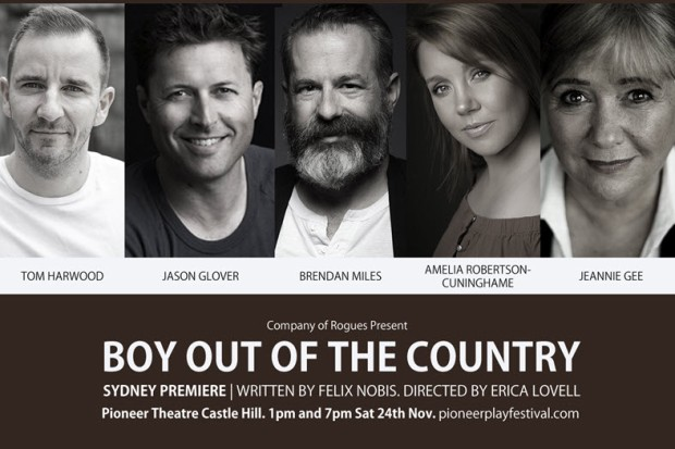 Boy out of the Country - Cast Announcement sm